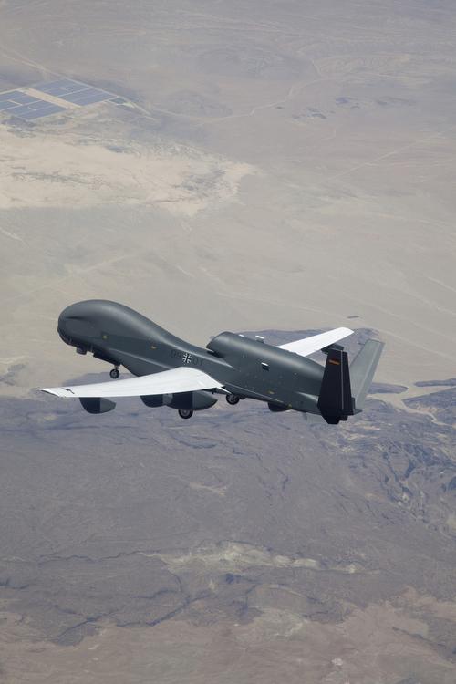 Testflug USA 2010 - Northrop Grumman Pressefoto