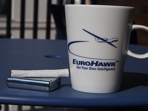 EuroHawk-Tasse