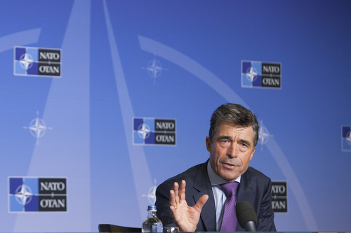 Monthly press conference by the NATO Secretary General