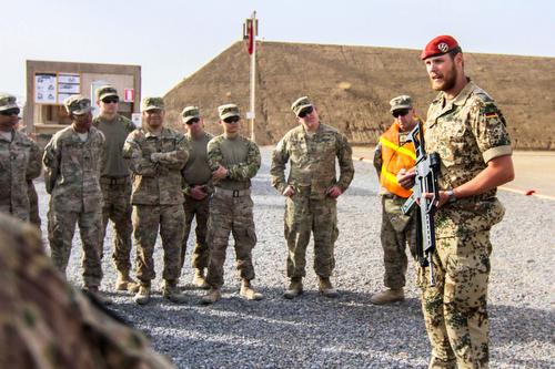 The Schützenschnur comes to Afghanistan
