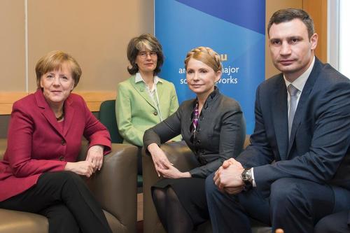 Merkel_Tymoschenko_Klitschko20140307