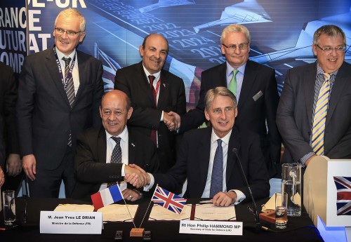 UK AND FRANCE STRENGTHEN DEFENCE COOPERATION