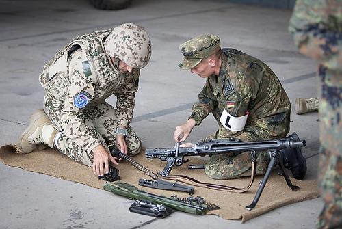 Ausbildung fuer Afghanistan