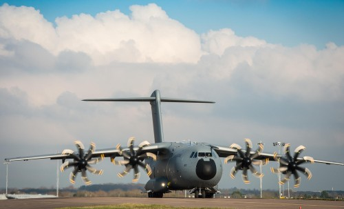 UK AND FRANCE SUPPORT CONTRACT TO MAINTAIN THEIR A400M TRANSPORTER FLEET