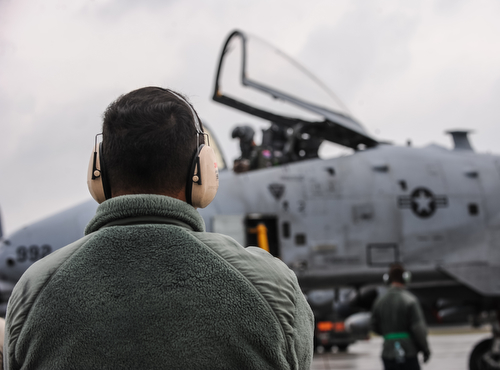 A-10 fighters land in Poland