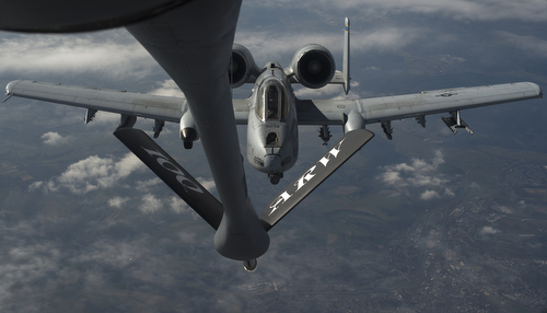 A-10s refuel over Europe, maintain forward presence