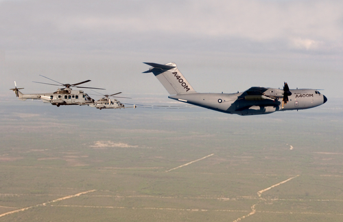 70. A400M refuelling EC725 Caracal Photomontage6240892927A