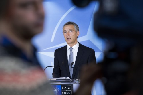 Doorstep statement by the Secretary General - Meetings of NATO Defence Ministers