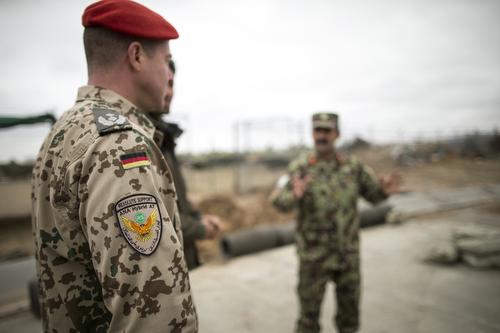 Pionierausbildung der afghanischen Armee am 15.02.2015.