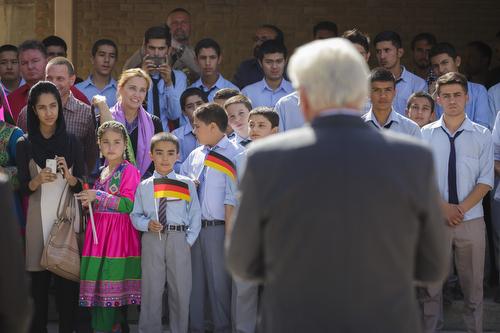 30.08.2015 BM Steinmeier in Afghanistan