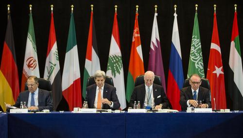 Treffen der Syrien-Kontaktgruppe