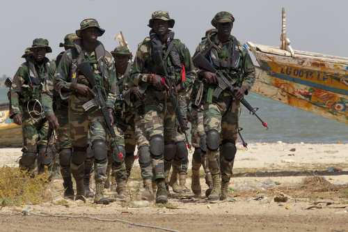 Senegalese Special Operations Forces conduct riverine training