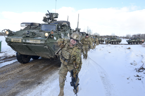 Iron Troop participates in Estonian nationwide readiness exercise