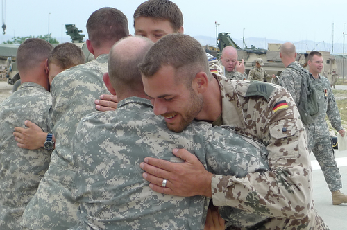 U.S. Soldiers Awarded Highest German Medal for Bravery During Rescue