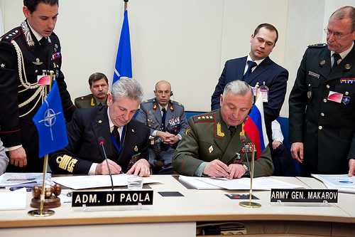 Military Committee in Chiefs of Staff Session with Russia - Signing of the NATO-Russia Council Consolidated Glossary of Cooperation