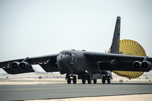 B-52s Arrive at Al Udeid Air Base