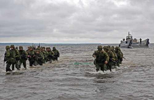 Marines in Estonia