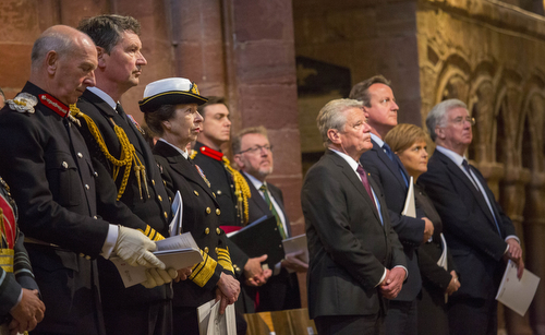 The National Commemoration Of The Centenary Of The Battle Of Jutland