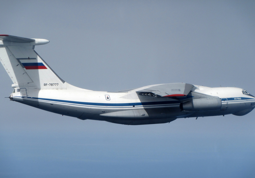 Image of a Russian IL76 Candid aircraft
