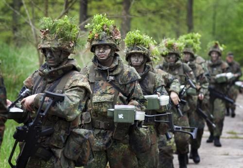 Rekruten bei der Bundeswehr | Recruits at the Bundeswehr