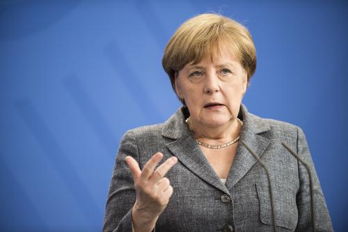 Merkel trifft Ministerpraesident der Slowakei