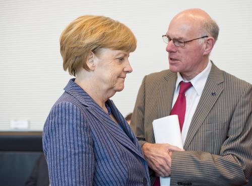 Merkel und Lammert