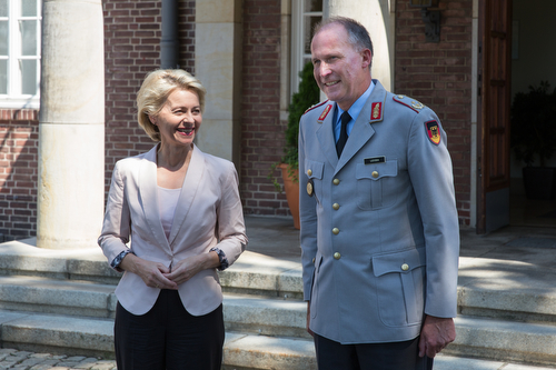 Sommerreise 2014 der Verteidigungsministerin