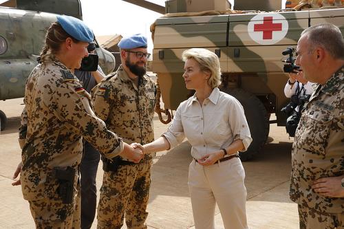 BW Tropen Mali Einsatz DEU EINSKTGT Gao Minusma Mission Nato Bundeswehr #32186