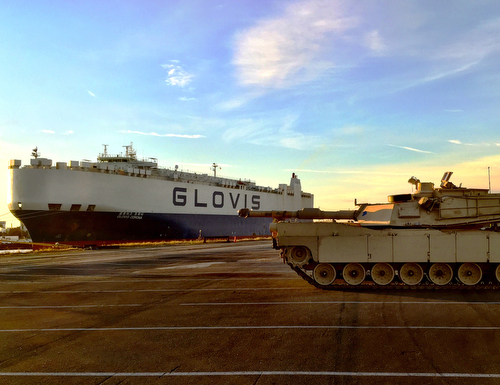 3ABCT arrival to Europe kicks off with seaport operations
