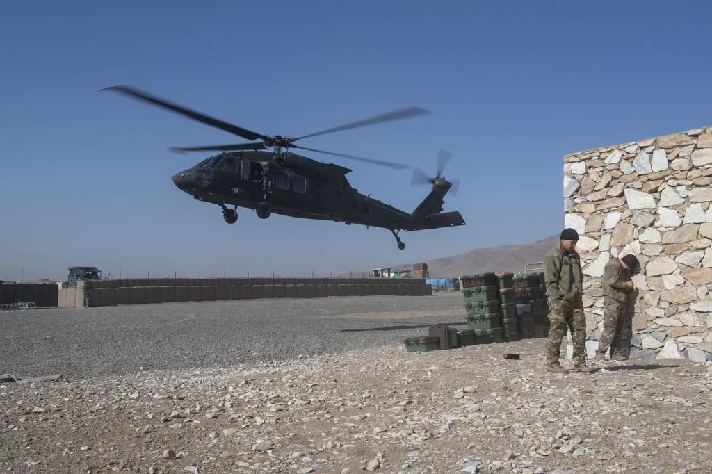 Trump macht Druck für schnelleren US-Truppenabzug aus Afghanistan (Nachtrag: Taliban) – Augen geradeaus!